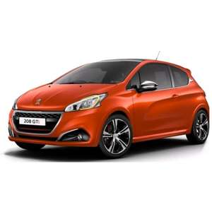 Peugeot 208 GTi Prestige (Facelift - new shape), Satnav, Pan Roof, Heated Seats, Climate, Leather, and loads more - 18 Month lease @ 5k Miles pa (10K Available not much more) - £149.83 Deposit then £149.83 pm. £300 Admin Fee £2996.94 Total @ madsheep