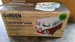 Campervan garden solar light £6.99 Home Bargains