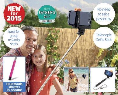 Selfie Stick £6.99 at ALDI