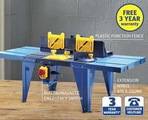 Router Table £29.99 at ALDI