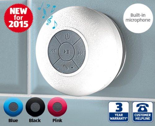 Bluetooth Shower Speaker + 3yr Warranty @ Aldi £8.99