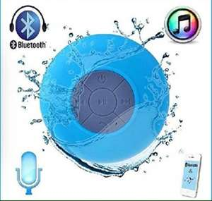TechCode Mini Ultra Portable Waterproof Bluetooth Wireless Stereo Speakers with Suction Cup for Showers £5.89 +Delivery Sold by Lighting Star UK and Fulfilled by Amazon