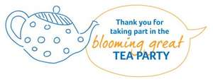 Host a Blooming Great Tea Party for Marie Curie and get a Party Pack with Recipes & More