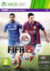 FIFA 15 XBOX 360 - £14.99 (+ postage if under £20) - on back order -- Also available at John Lewis