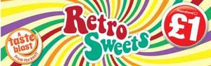 Retro Sweets @ PoundLand £1