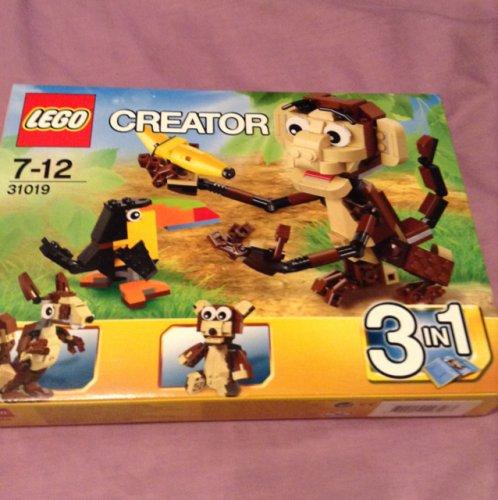 Lego creator monkey (set 31019) £4 in store Tesco Hull