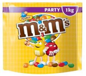 Giant 1KG Bag of Peanut M&Ms for £2.99 at Iceland