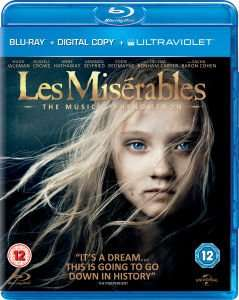 Les Misérables (Includes Digital and UltraViolet Copies) Blu-ray £2.99 delivered @ cast-iron-dvds / Ebay