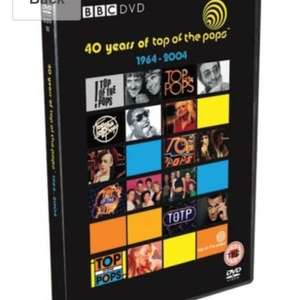 Top of the Pops 40th anniversary used DVD £3.37 delivered @ zoverstocks via Amazon
