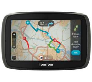 "TOMTOM GO 40 4.3"" GPS Sat Nav - with UK, ROI & Full Europe Maps £90.00 @ Currys"