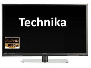 "Technika 32E21B-Fhd 32"" Slim Freeview LED TV £119 Delivered @ Tesco Via eBay (Refurbished/Add £10 For DVD Combi)"