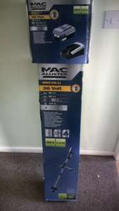Mac Allister 36v cordless brush cutter £76.00 with battery and charger @ B&Q