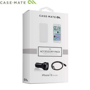 Case-Mate iPhone 6 Plus Case, car charger, screen protector and data cable for £9.99 at Mobile Fun. RRP £24.99! now £12.98 @ Mobile Fun