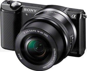 Sony A5000 + E16-50mm PZ OSS Black + E55-210mm OSS Black Twin Kit (Alpha 5000 ILCE-5000KB) (£349.99 AFTER CASHBACK) @  £399.99 London Camera Exchange