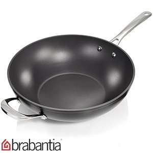 Brabantia  30cm Tritanium Wok with 10 year guarantee £12.99 @ Home Bargains