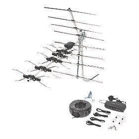 Philex C10W/S 32-Element Digital Aerial with Distribution Kit £5.90 @ Screwfix