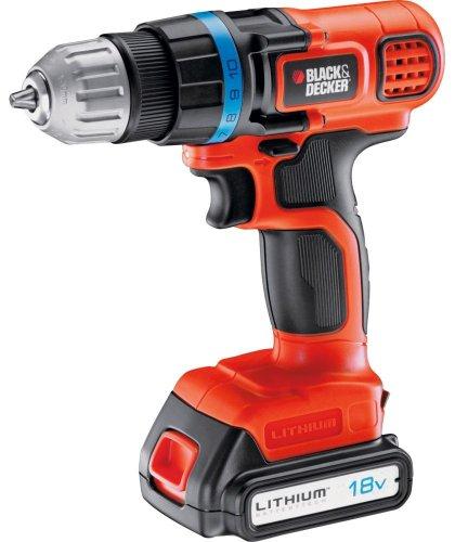 ARGOS: Black & Decker Cordless Drill Driver - 18V Lithium £44.99