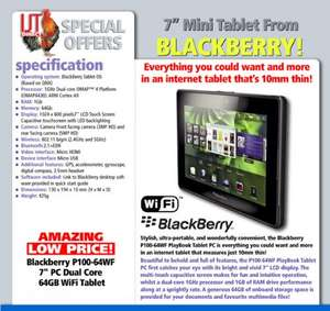 Blackberry Playbook 64gb Referb Grade A1  £44.99 @ IJT Direct