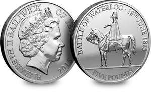 Battle of Waterloo 200th anniversary £5 for £5 COIN (free p+p) @ Westminster Collection