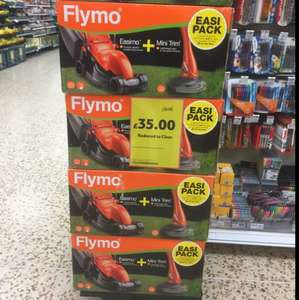Flymo Easi pack £35 Reduced to clear in Tesco Weston super mare