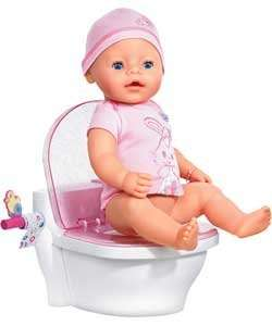 BABY Born Interactive Potty now £8.33 at Argos