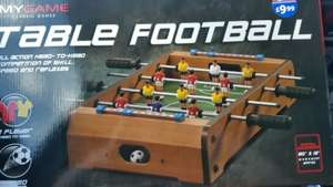 Table Football £1 Instore @ B&M