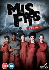 Misfits Series 2 DVD NEW £2.00 (Prime) £3.49 (Non-Prime) Sold by HarriBella.UK.LTD and fulfilled by Amazon
