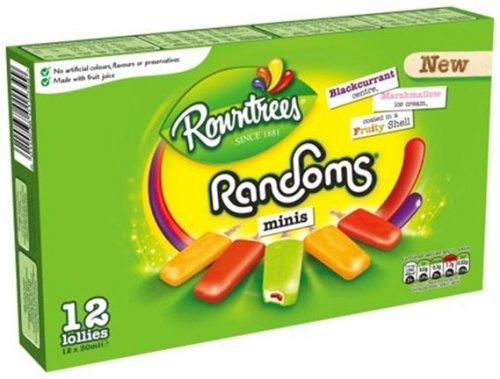 Rowntrees Randoms Mini Ice Creams  12 x 30ml Half Price £1.24 @ Morrisons