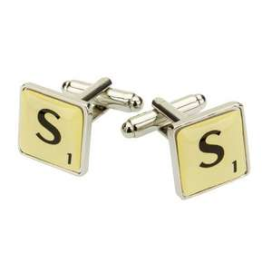 Scrabble Cuff Links, £1.99 @ Men Kind (originally £12.99) (+£3.99 order P&P)
