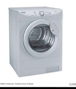 Hoover VHC68B Condenser Tumble Dryer B Rated £159.99 @ Applianceuniverse