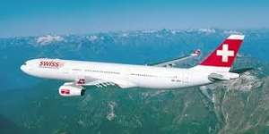 Swiss:Fly from London to Geneva. Pay economy for Business class £123