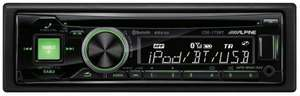 Alpine CDE-173BT Car Stereo Bluetooth iPod iPhone MP3 AUX Detachable Faceplate £50 @ Halfords / ebay