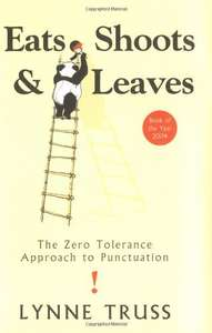 Eats, Shoots and Leaves by Lynne Truss £3.14 @ World of Books (using 10% off code)