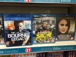 Blu Ray Titles New Sealed £1 @ PoundLand