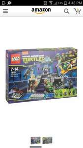 Turtles Lego Shredders Lair Rescue 79122 £24.99 - Toys R Us (instore)