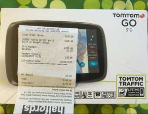 "TomTom GO 510 5"" Sat Nav with MyDrive & Lifetime Traffic & Lifetime World Maps £135.99 @ Halfords"