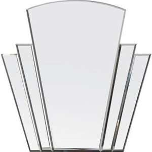 Heart of House Olivia Art Deco Wall Mirror - Silver £24.99 @ Argos