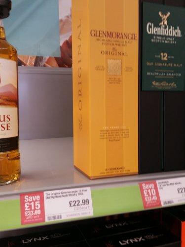 Glenmorangie 10 Year Old Highland Malt Whisky 70cl £22.99 @ Co-op