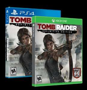 (PS4/Xbox One) Tomb Raider: Definitive Edition - £13.49 - 365Games