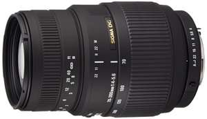 Sigma 70-300mm f4-5.6 Macro DG Lens For Pentax Digital & Film SLR Cameras £86.89 @ Amazon
