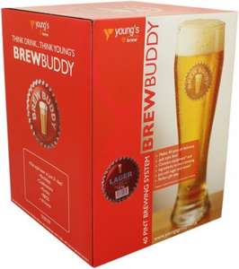 BrewBuddy Brewing Starter Kit (40 Pints Of Lager Or Bitter For Dad) £23.50 C&C @ Tesco Direct (Refills Just £10.50 For 40 Bitter Or Cider)
