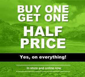Buy one get one half price @ Lakeland Leather