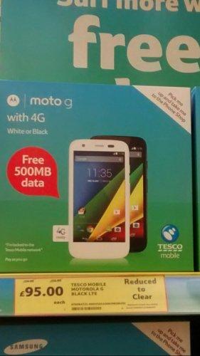 Moto G 4G £95 @ Tesco