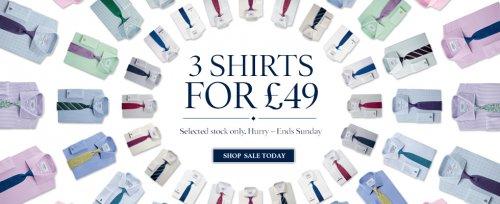 Charles Tyrwhitt - 3 shirts for £49 !
