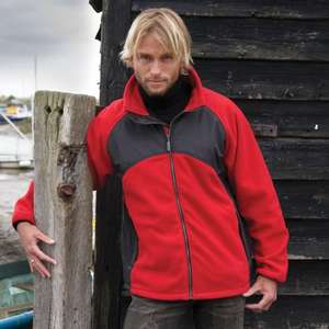 RESULT TECH3™ SPORT FLEECE/MICRO JACKET £11.94 + postage - £15.59 @ Result Clothing