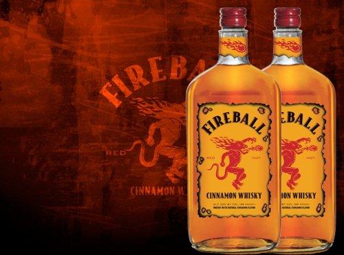 Fireball whisky 500ml £10 at Tesco