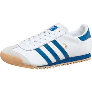 adidas Originals Mens Rom Trainers White/Blue £29.39 with free P&P @ mandmdirect