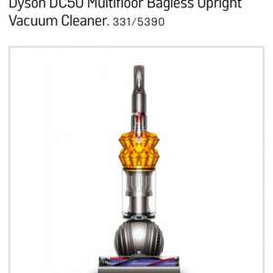Dyson dc 50 £249 or £169.99 with trade in @ Argos
