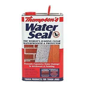 Thompsons Water Seal Clear 5Ltr, £7.49 @ B&M