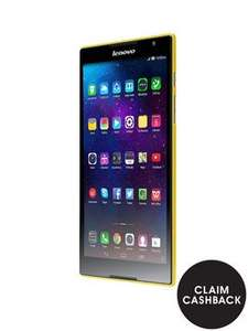 Lenovo S8-50 Tablet - Black/Yellow/Blue (£65.68 after cashback/discounts) £129 @ Very.co.uk